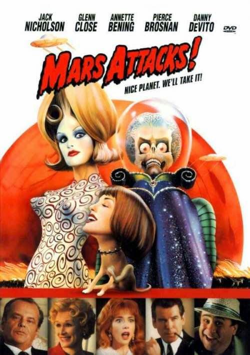 Phim Hoạt Hình Cuộc Tấn Công Từ Sao Hỏa - Mars Attacks! - 1996
