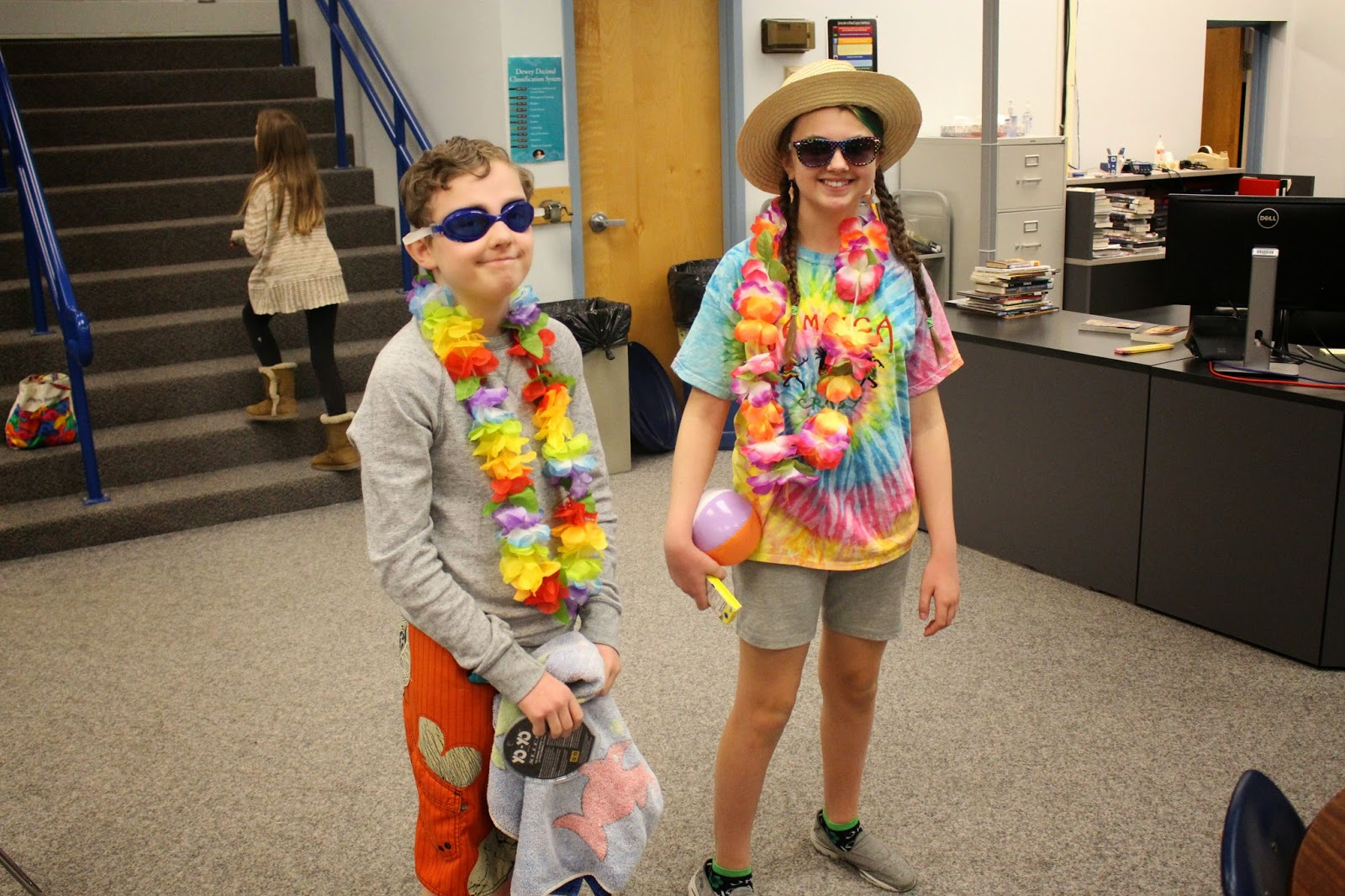 Lincoln Middle School News Feed Beach Day - Spirit Week