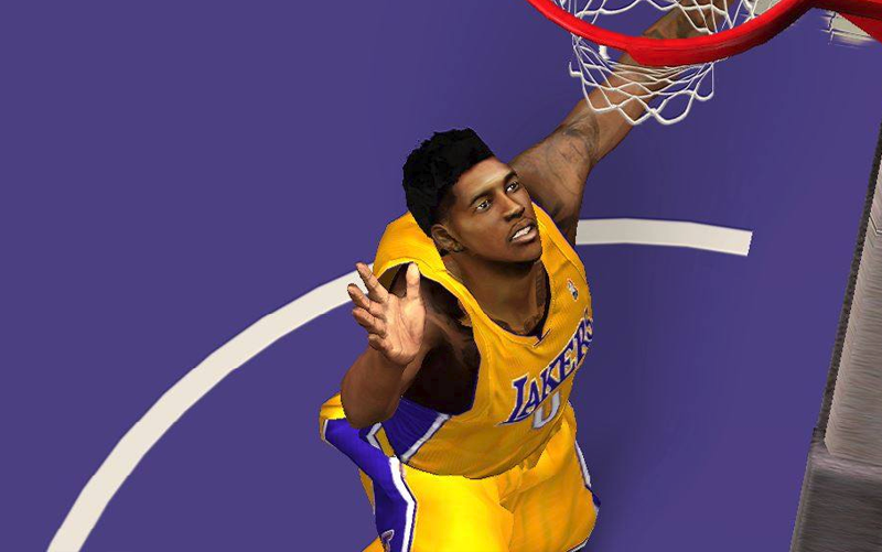 NBA 2K14 Nick Young Flat top