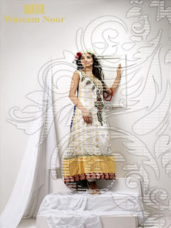 Rangoli Party Wear Collection 2013 By Waseem Noor