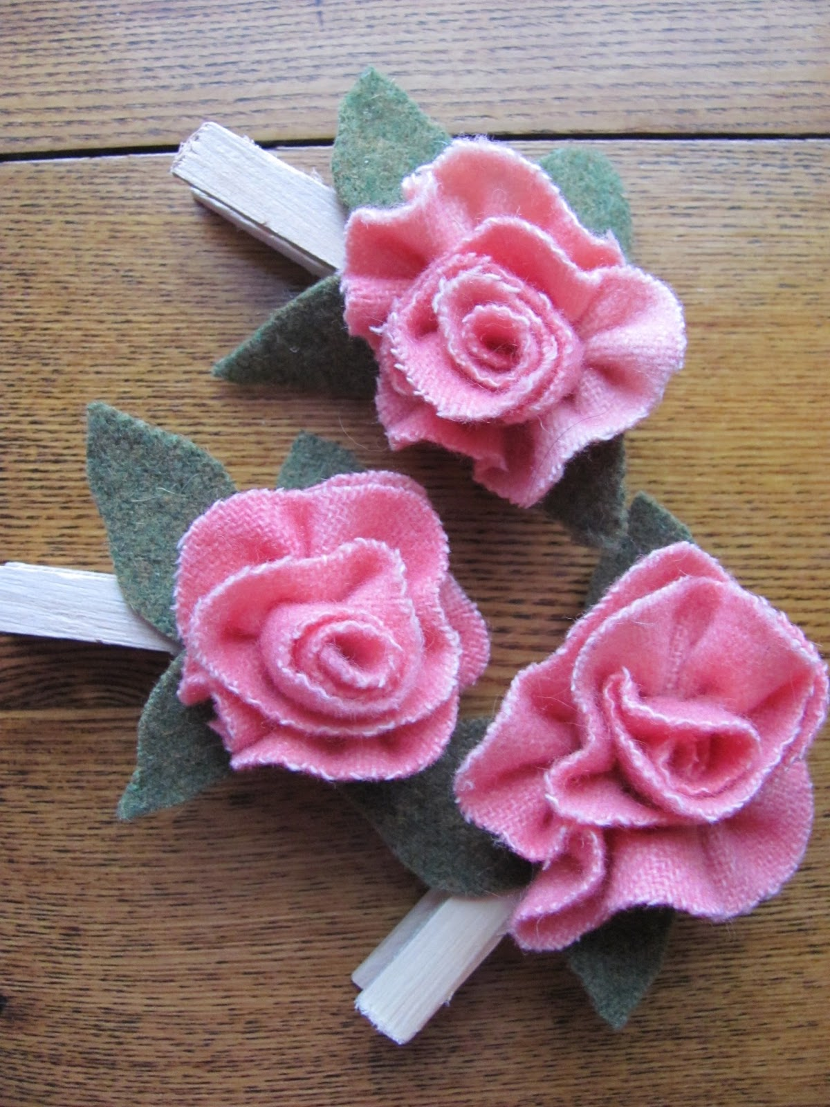 Из трикотажа своими руками цветок