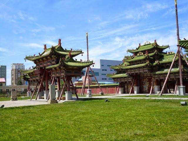 Palacio de invierno de Bogd Khan