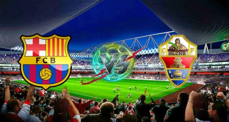 Prediksi Bola Barcelona vs Elche 25 Agustus 2014