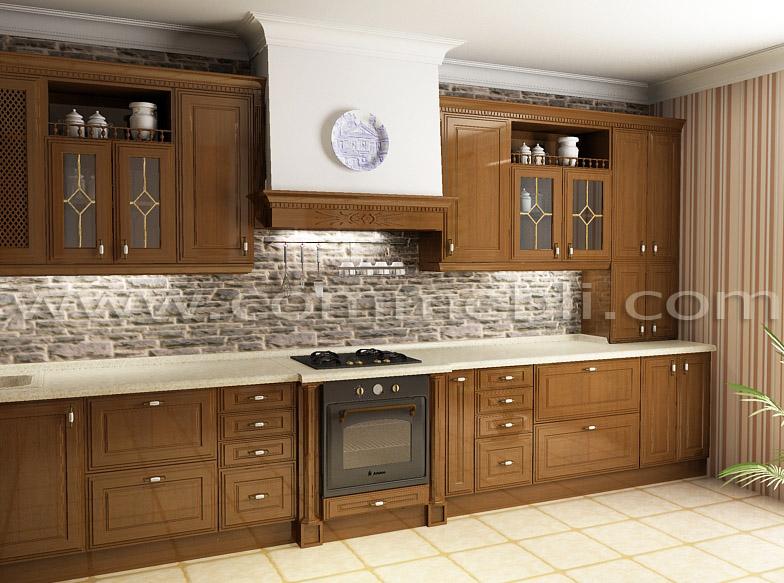 Меблі для кухні з великою площею