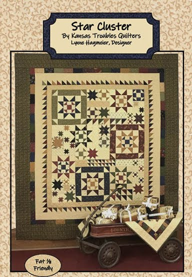 Star Cluster lap quilt