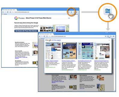 Páginas semelhantes do Google - Beta