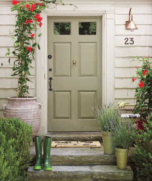 In the shadow of the steeple my love of front doors - Front door color ideas inspirations can use ...