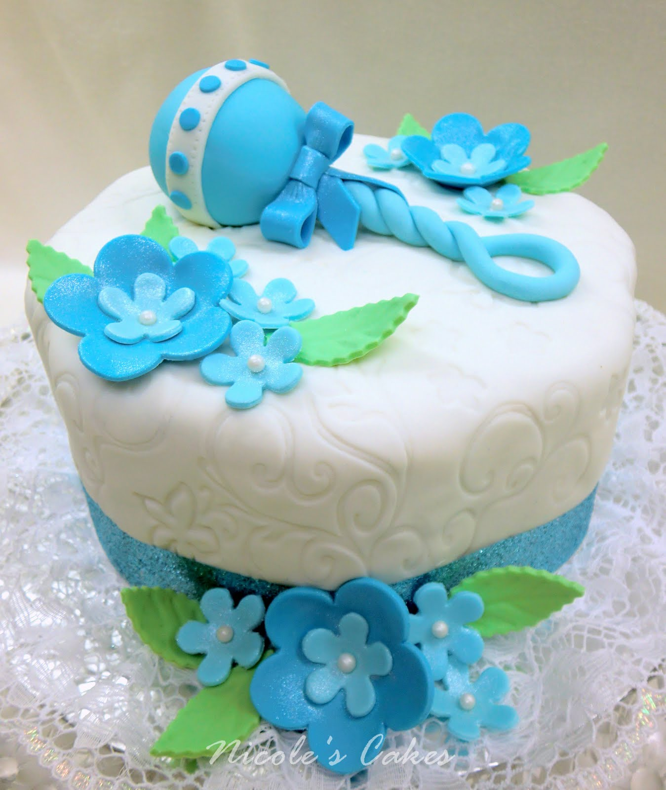Baby Shower Cakes: Beautiful Boy Baby Shower Cakes