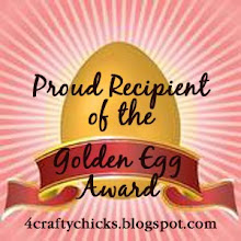 I Won Golden Egg Award - 4 Crafty Chicks