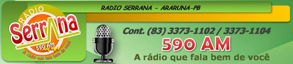 (( Rádio Serrana de Araruna AM 590  KHZ ))