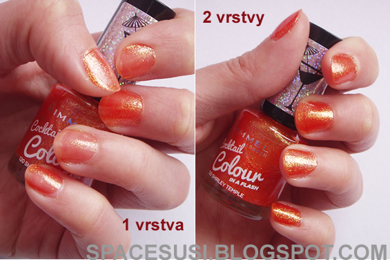 Cocktail Colour in a Flash, Rimmel London, lak na nehty