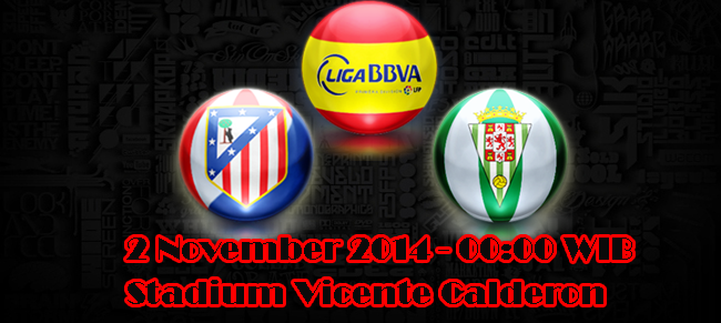 Atletico Madrid Vs Cordoba