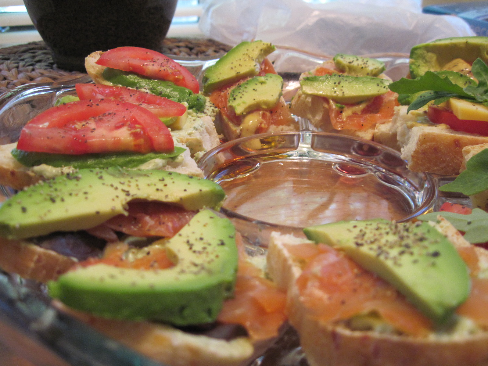 This Delicious Dish: Fresh Open Faced Sandwiches