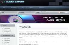 Editor, conversor y grabador de audio online: AudioExpert