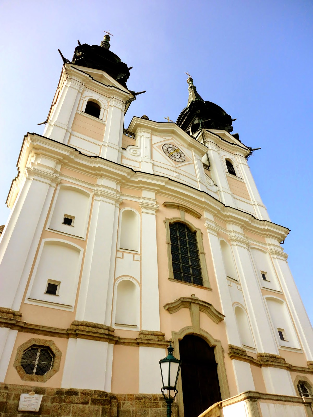 Postlingberg church in Linz, Austria