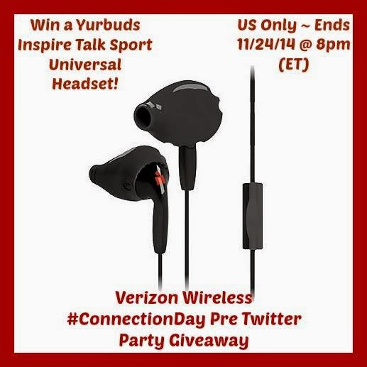 Enter the Yurbuds Inspire Talk Sport Universal Headset. Ends 11/24