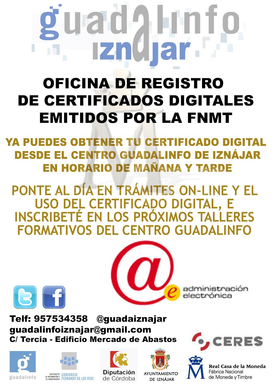 Centro guadalinfo de izn jar octubre 2012 for Oficina de correos cordoba