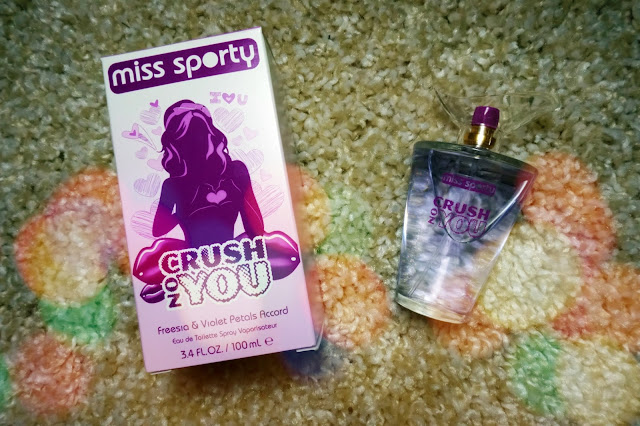 Miss Sporty Crush On You Freesia & Violet Petals Accord EDT Fragrance