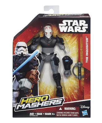 TOYS : JUGUETES - STAR WARS Rebels : Hero Mashers  El Inquisidor : The Inquisitor | Figura - Muñeco  Producto Oficial Película Disney 2015 | Hasbro B3772 | A partir de 4 años  Comprar en Amazon España & buy Amazon USA