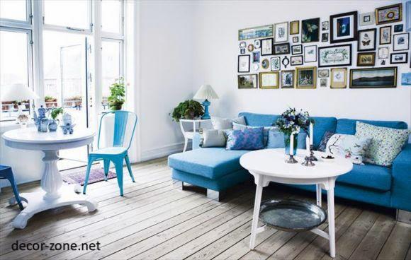 turquoise living room interior design ideas