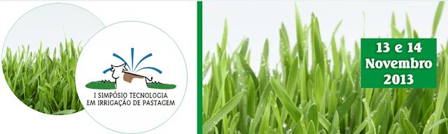 I Simpósio de Tecnologia em Irrigação de Pastagem 2013
