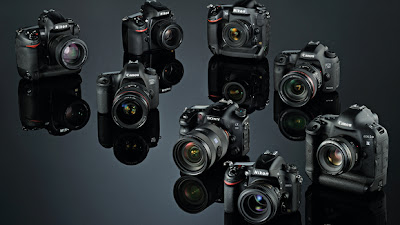 Full frame camera, Nikon D600, Nikon D800, Canon 5D Mark III