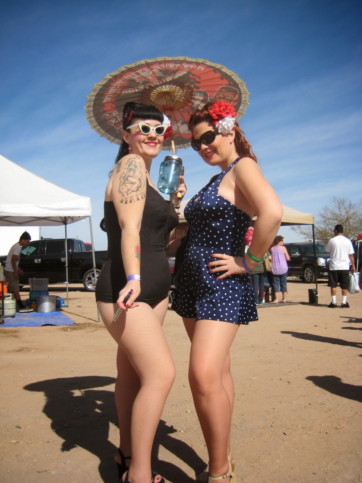Pinup girls- Rockabilly Reunion 2014