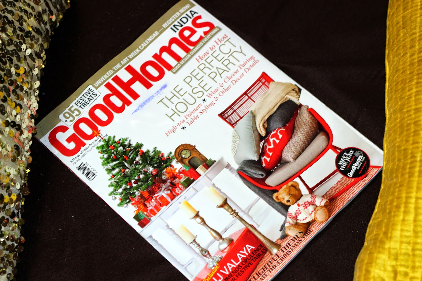 Good Homes December 2014 - Tips on How To Host The Perfect House Party!