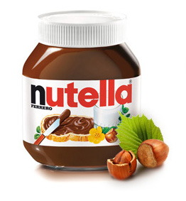 NUTELLA, EATING NUTELLA,