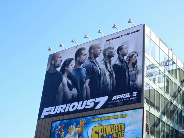 Giant Furious 7 billboard