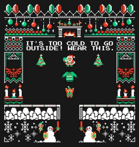 legend of zelda ugly christmas sweater 106 - Legend Of Zelda Christmas Sweater
