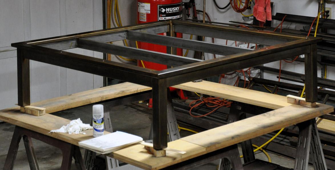 metal table frame furniture frame 2