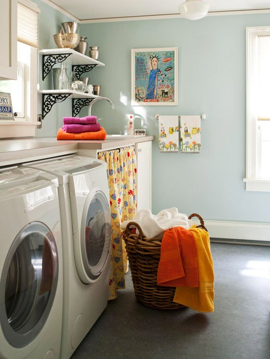 Lorelei 39 s blog saw this on pinterest - Decorating laundry room ideas ...