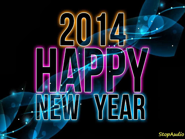 Happy New Year 2014 Greetings Backgrounds