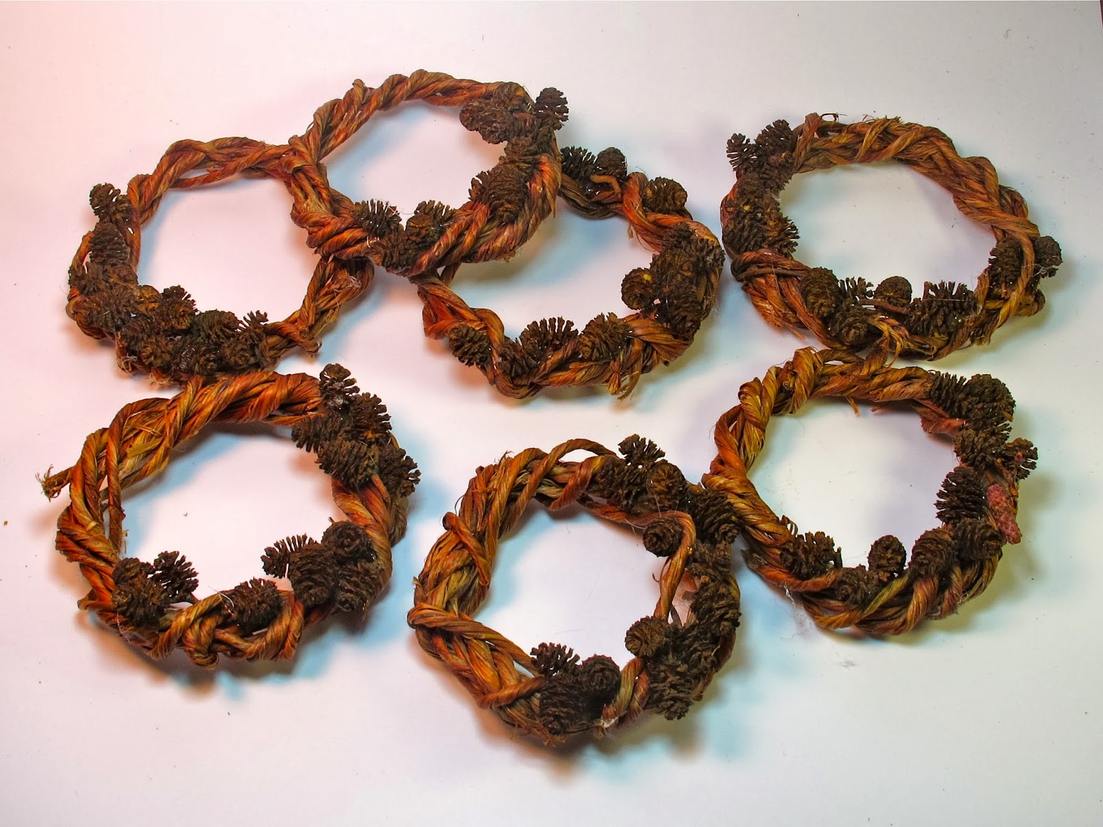 wreath ornaments