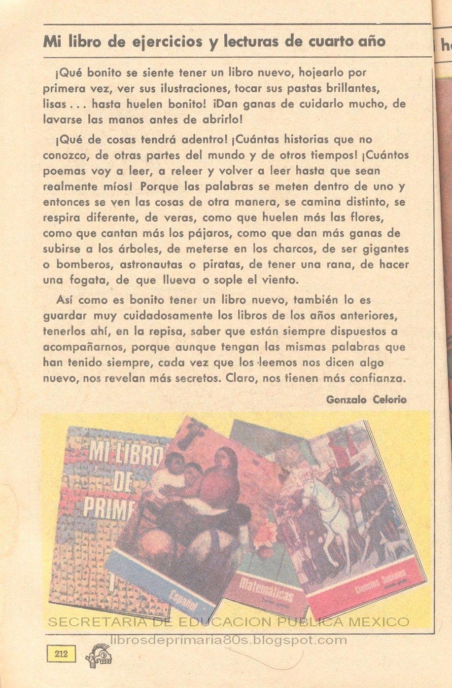 Libros de Primaria de los 80\'s: Mi libro de ejercicios y lecturas de ...