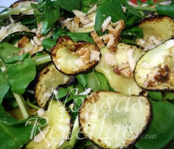 deliciosa salada de abobrinha