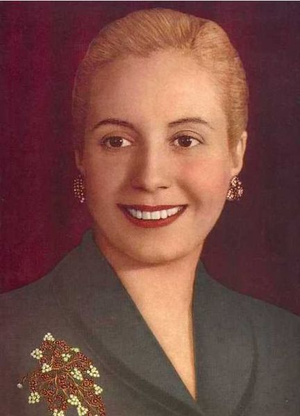 a biography of maria eva duarte the first lady A few weeks before she died, eva peron rode next to her husband for his second inauguration as president of argentina  as the first lady,.