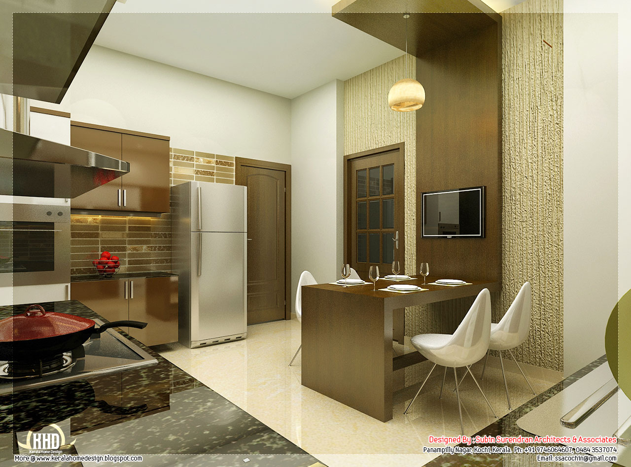 Beautiful interior design ideas kerala house design for Pictures of beautiful houses interior