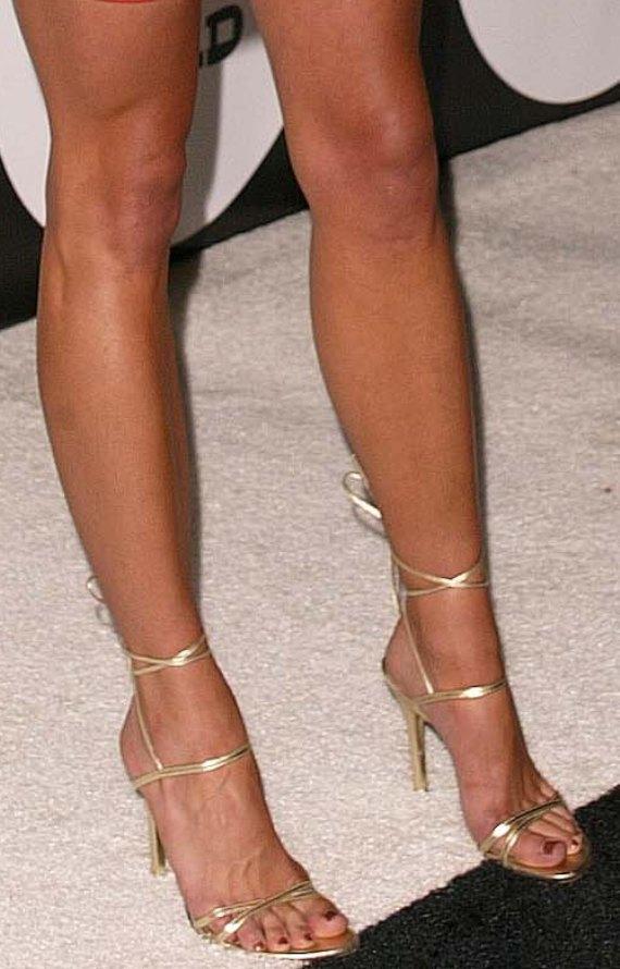 CelebrityGala: Brooke Burns Feet and Legs