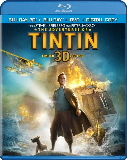 The Adventures Of Tintin (2011) 720p BRRip Dual Audio Hindi Dubbed