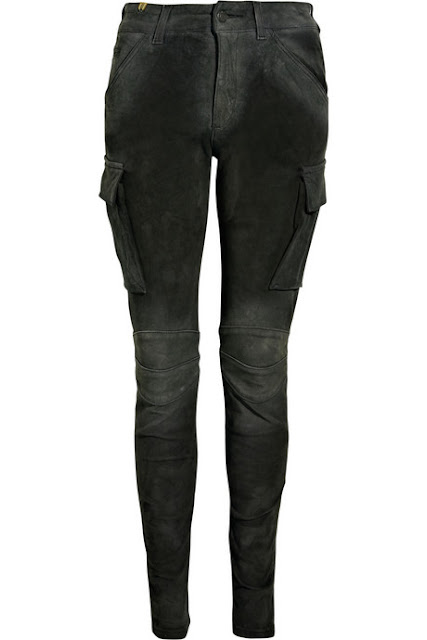 Notify Suede Skinny Cargo Pants Katniss Hunger Games