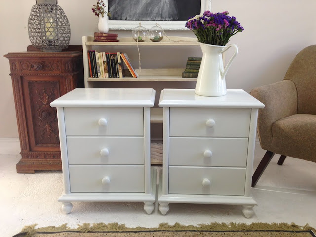 white bedside tables by lilyfield life custom furniture painting
