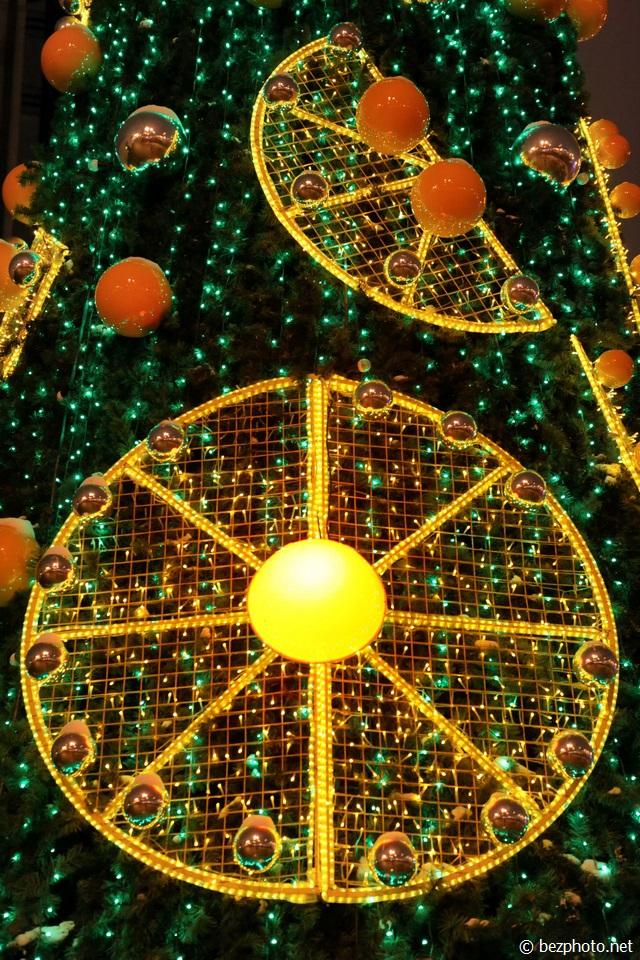 елка парк культуры