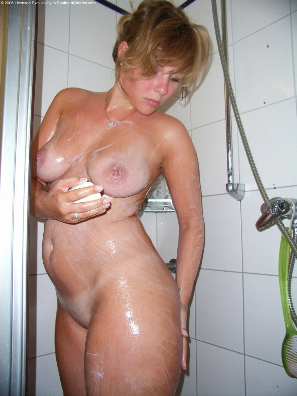 Not so. Thick naked girls shower the