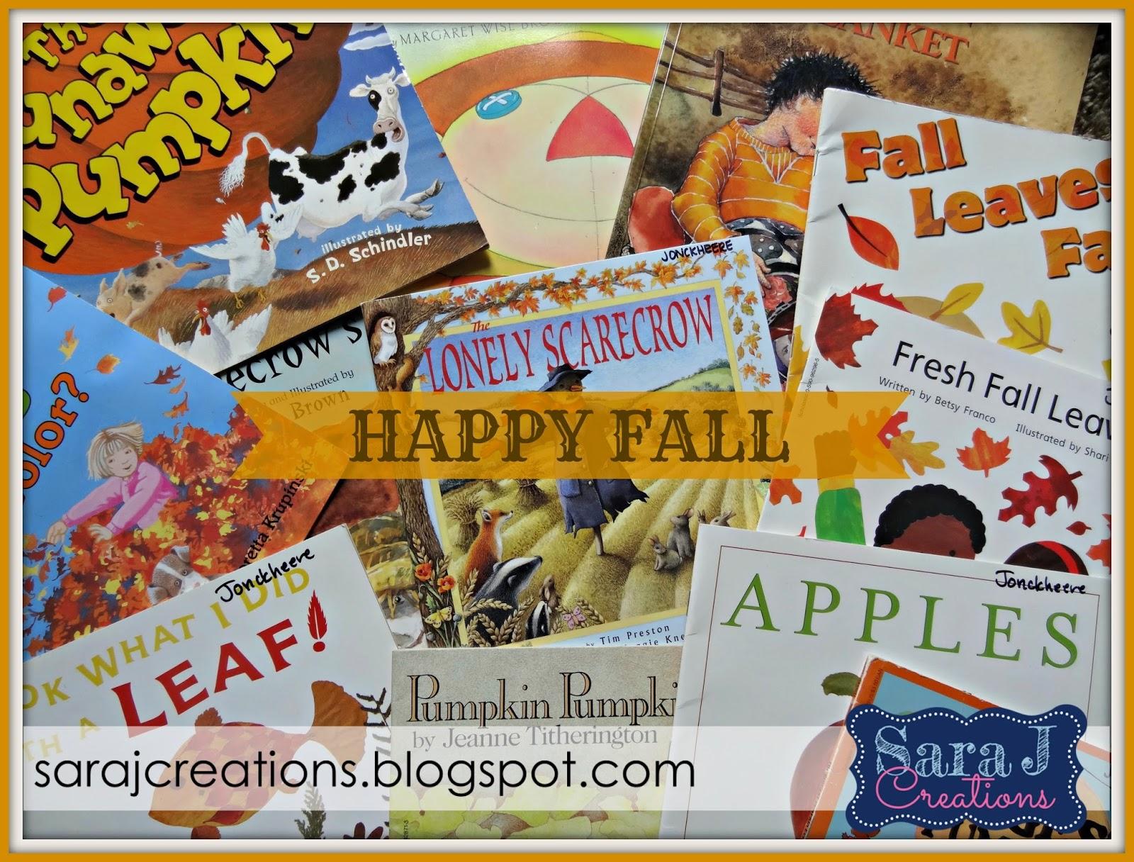 Getting ready for fall a freebie sara j creations for Getting ready for fall