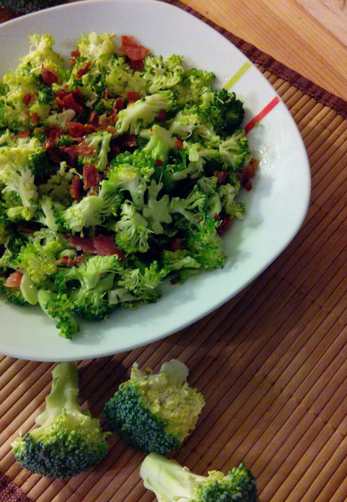 Chopped Broccoli & Prosciutto Salad