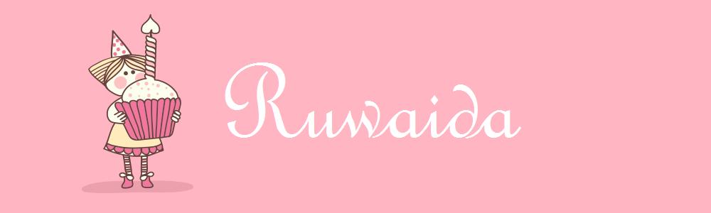 Ruwaida Ridzwan