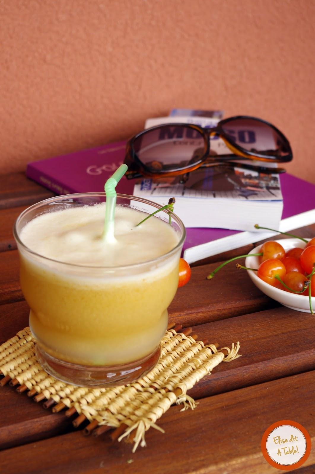 recette Eau de melon et cerise