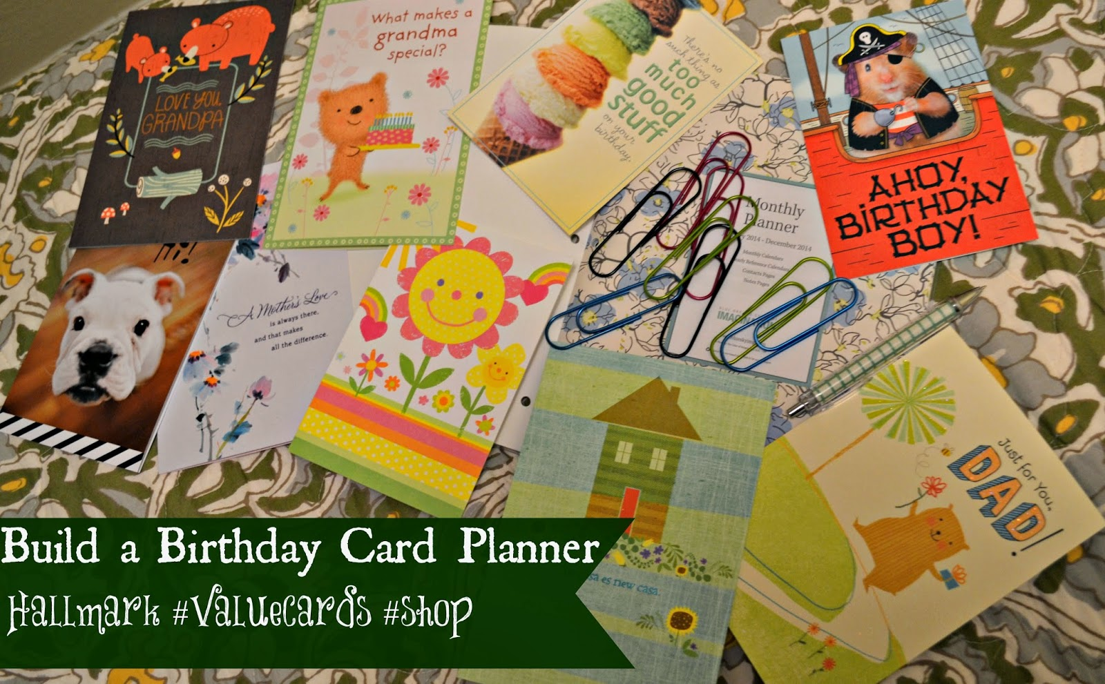 Hallmark Value Birthday Greeting Cards Helps Bring Back the Art of Snail Mail! #ValueCards #shop